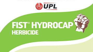 Fist Hydrocap Herbicide (a new CS highload pendimethalin) successufully launched in Q4 2016}